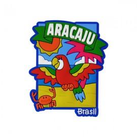 Aracaju Praia Brasil - Imã de Geladeira