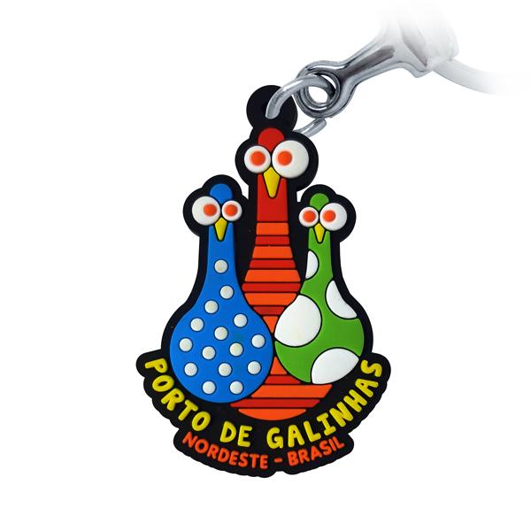 Porto de Galinhas Pinos - Chaveiro