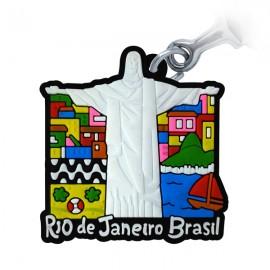 Rio Copacabana - Chaveiro Emborrachado