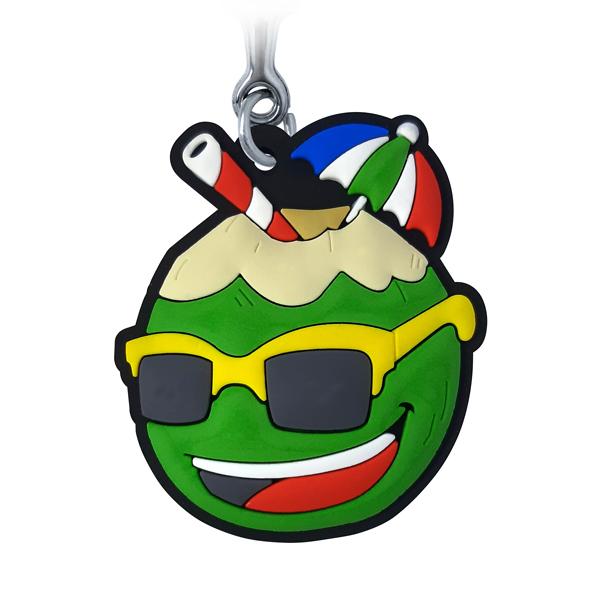 Coco Maneiro - Chaveiro Emborrachado