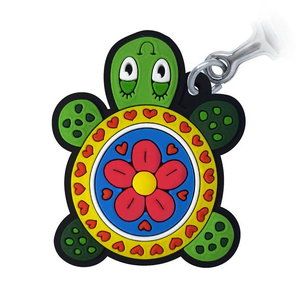 Tartaruga - Chaveiro Emborrachado