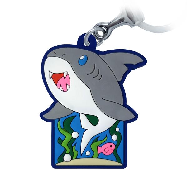 Tubarão Aquário - Chaveiro Emborrachado