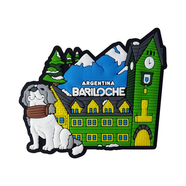 Bariloche Cachorro - Ímã de Geladeira