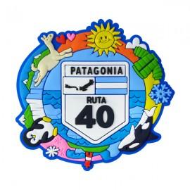 Patagônia Ruta 40 - Ímã de Geladeira