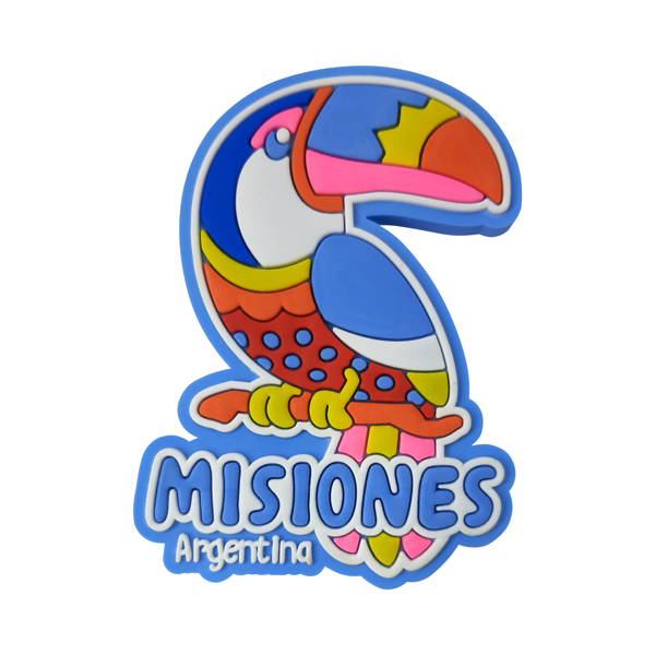Argentina Missiones Tucano - Ímã de Geladeira
