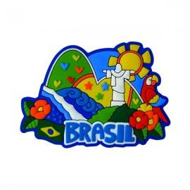 Brasil Corcovado - Imã de Geladeira