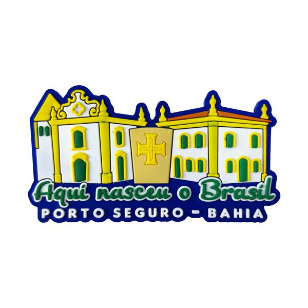 Porto Seguro Marco Zero - Imã de Geladeira
