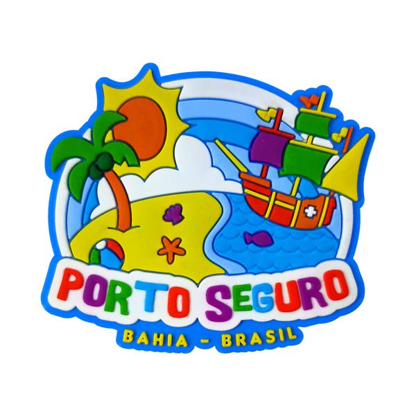 Porto Seguro Praia - Imã de Geladeira