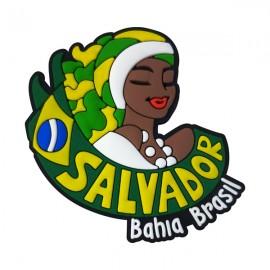 Salvador Bahia - Imã de Geladeira