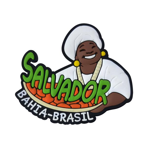 Salvador Acarajé - Imã de Geladeira