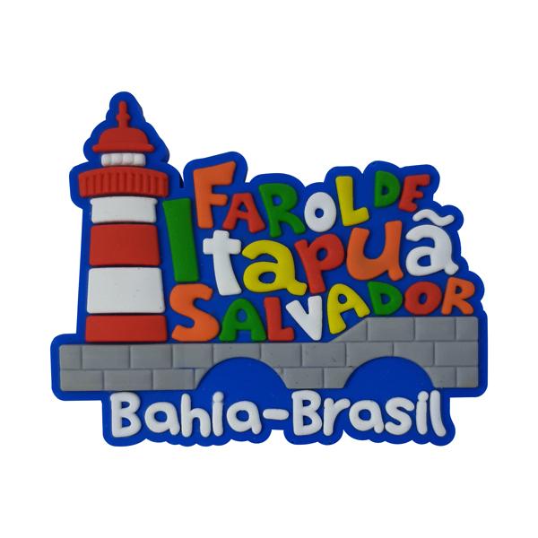 Salvador Farol Itapurã - Imã de Geladeira
