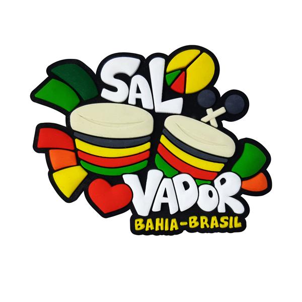 Salvador Tambores 2 - Imã de Geladeira
