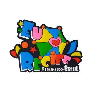 Recife Frevo - Imã de Geladeira