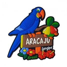 Arara Aracaju Sergipe - Imã de Geladeira