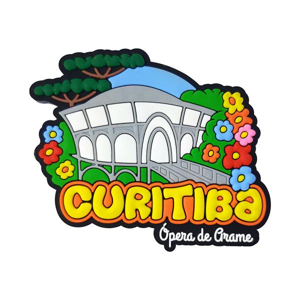 Curitiba Opera de Arame - Imã de Geladeira