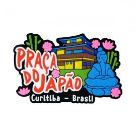 Curitiba Praça do Japão - Imã de Geladeira