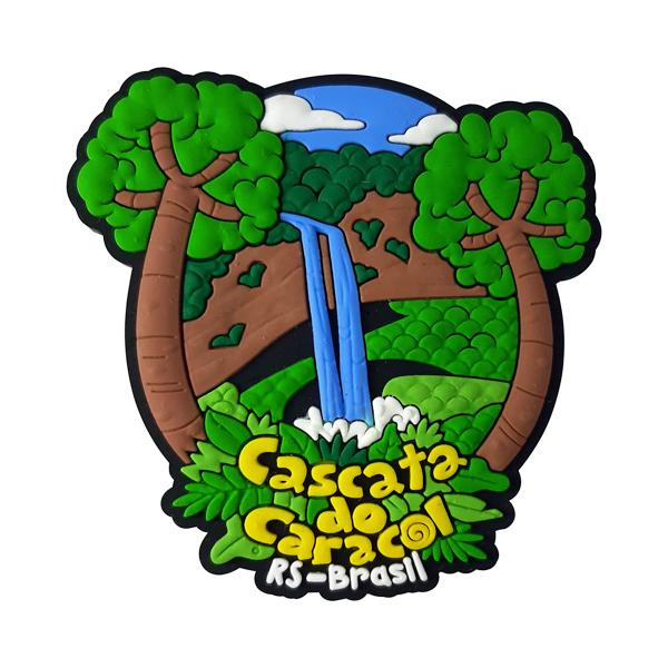 Cascata do Caracol - Imã de Geladeira