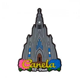 Canela Catedral de Pedra - Imã de Geladeira