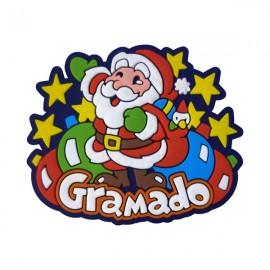 Gramado Papai Noel - Imã de Geladeira