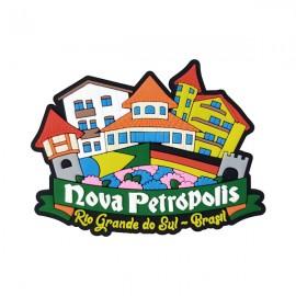 Nova Petrópolis Cidade - Imã de Geladeira