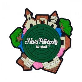 Nova Petrópolis Labirinto Jardim- Imã de Geladeira