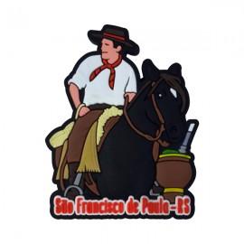 São Francisco de Paula  - Imã de Geladeira