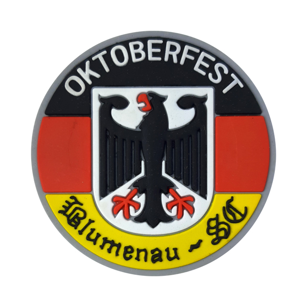 Blumenau Oktoberfest Brasão - Imã de Geladeira