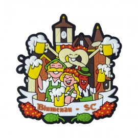 Blumenau Oktoberfest 2 - Imã de geladeira