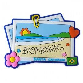 Bombinhas Recordação - Imã de Geladeira