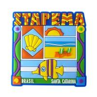 Itapema Praia - Imã de Geladeira