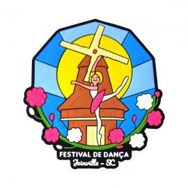 Joinville Bailarina - Imã de Geladeira