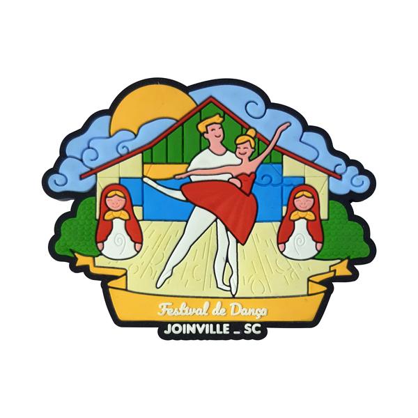 Joinville Dança Palco - Imã de Geladeira