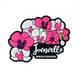 Joinville Flores - Imã de Geladeira