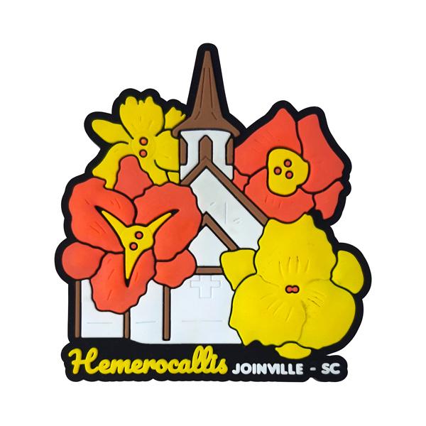Joinville Parque Hemerocallis - Imã de Geladeira