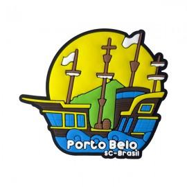 Porto Belo Caravela - Imã de Geladeira