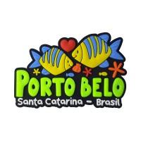Porto Belo Peixes - Imã de Geladeira