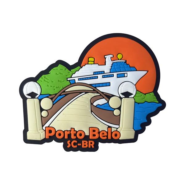 Porto Belo Pier - Imã de Geladeira