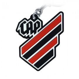 Athletico PR Logo 2 - Chaveiro Emborrachado (OFICIAL)