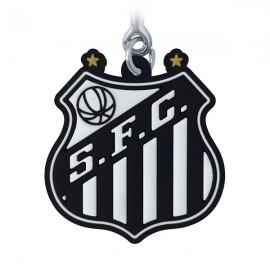 Santos Logo - Chaveiro Emborrachado (OFICIAL)
