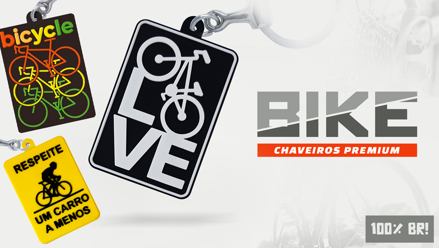 Chaveiros Bike