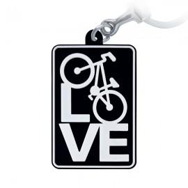 Love Bike - Chaveiro Emborrachado